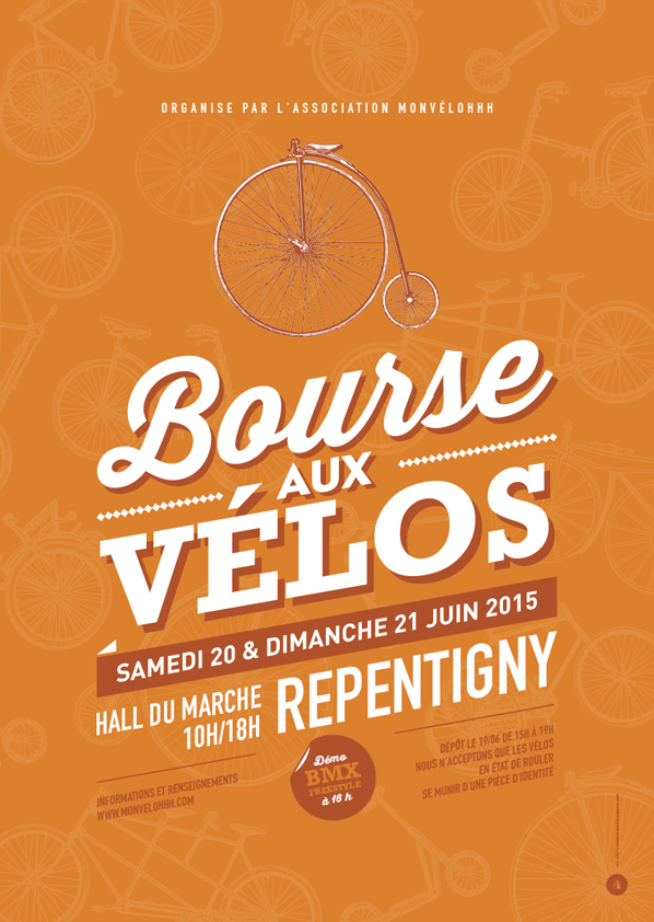 Affiche - Bourse aux vélos