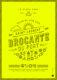 Affiche Brocante fluo jaune