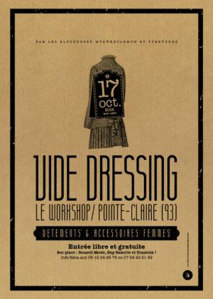 Affiche kraft - Vide-Dressing