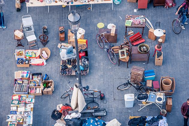 Organiser un marché aux puces